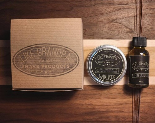 Like Grandpa Sandalwood Aftershave Balm