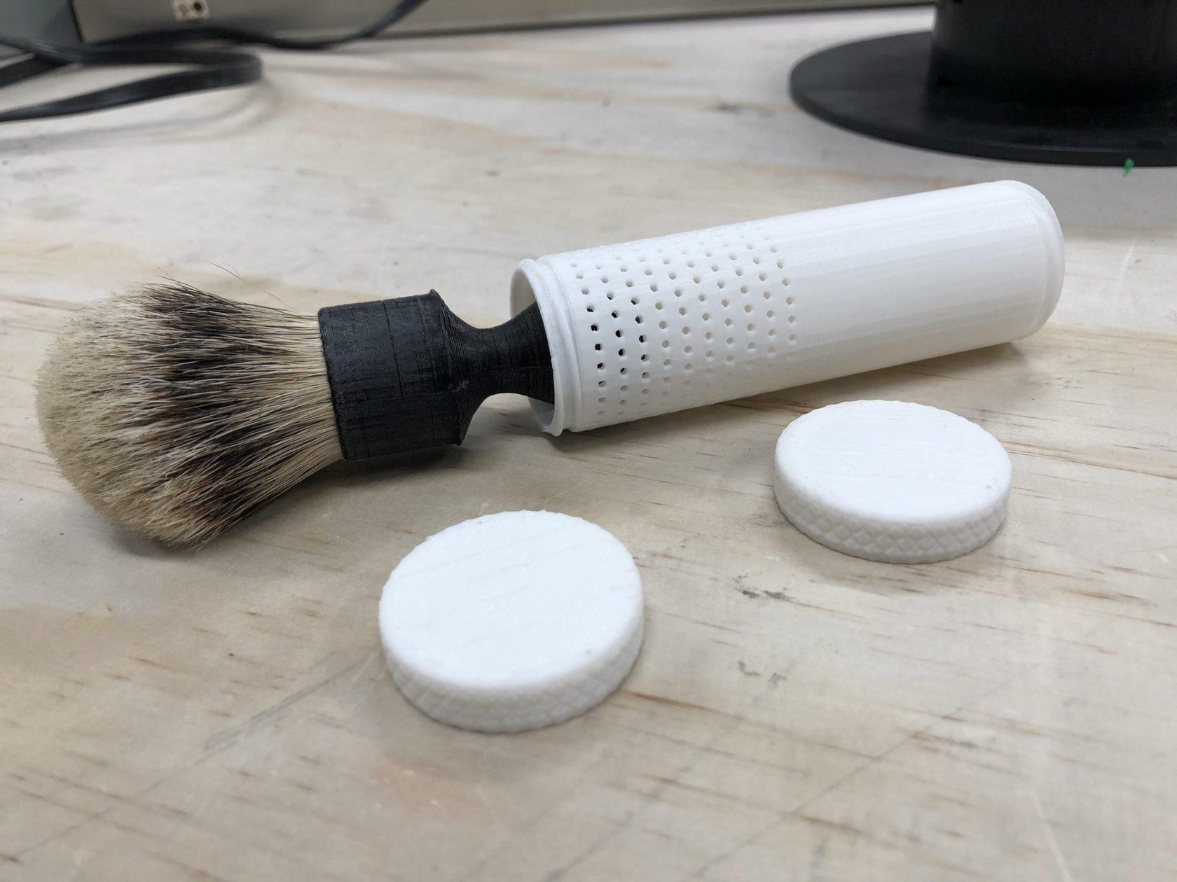 3D Print – a Parametric Brush Travel Tube