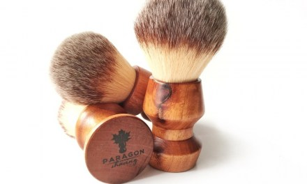 """Paragon Synthetic """"Plisson"""" with Paragon Handle"""